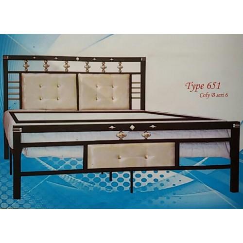 Ranjang Besi Aloha 651k Sion Furniture