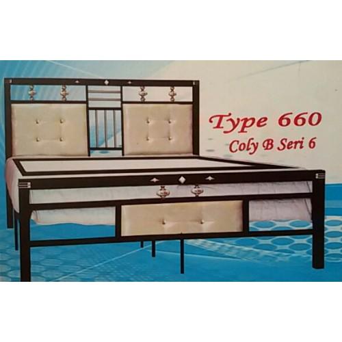 Ranjang Besi Aloha 660k Sion Furniture