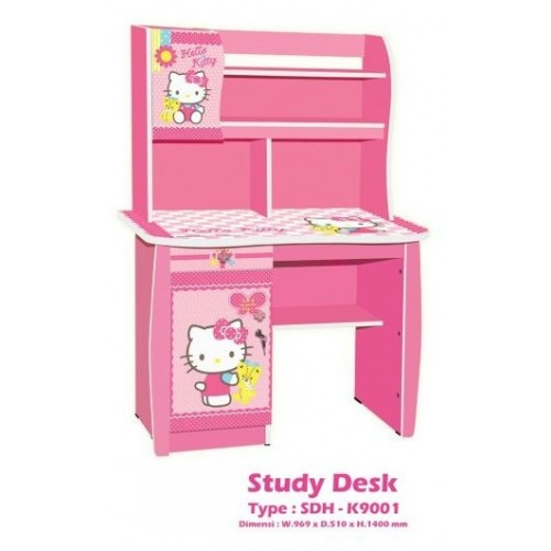 hello kitty furniture. Meja Belajar Hello Kitty Kea Panel Furniture