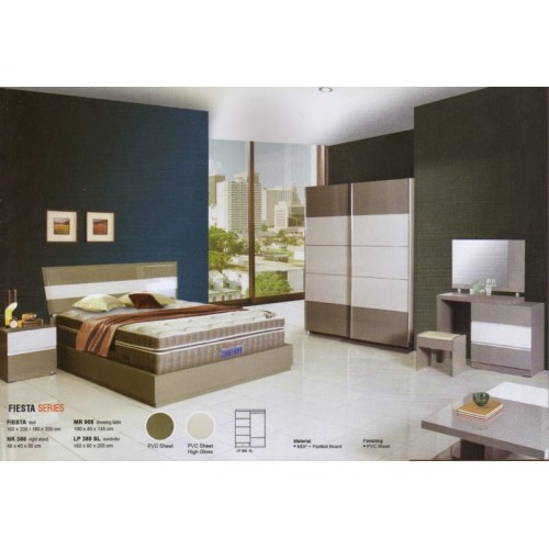 Bedroom Set Fiesta Siantano Equity